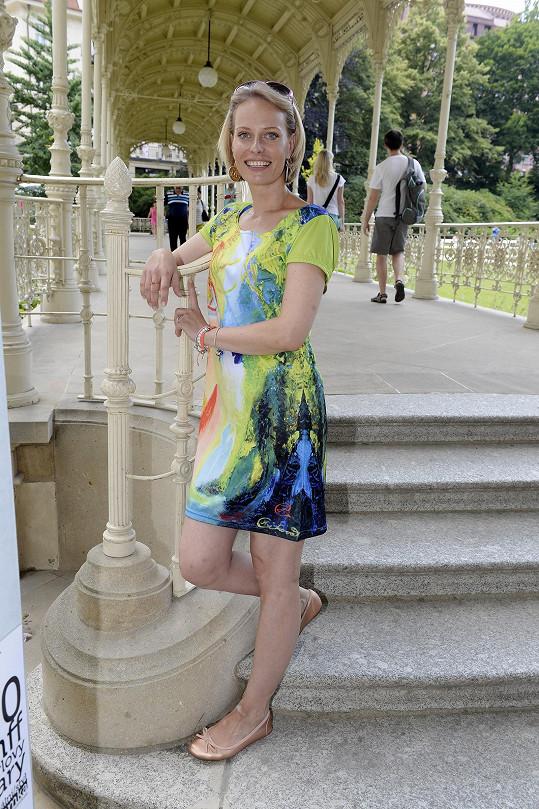 Kristina Kloubková má po porodu všecha kila dole.