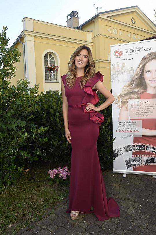 Pro Verešovou předváděla i Andrea Bezděková.