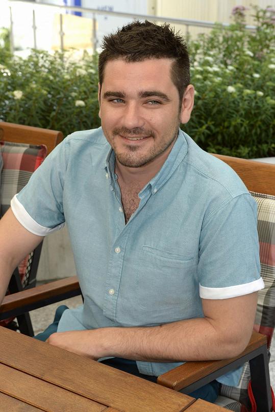 Vojta má za sebou své první natáčení jako režisér.