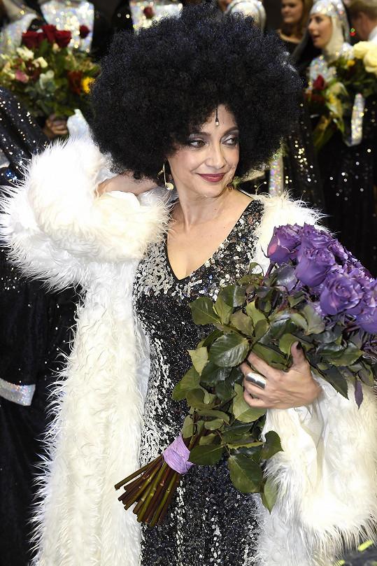 Lucie Bílá jako zpěvačka Delores