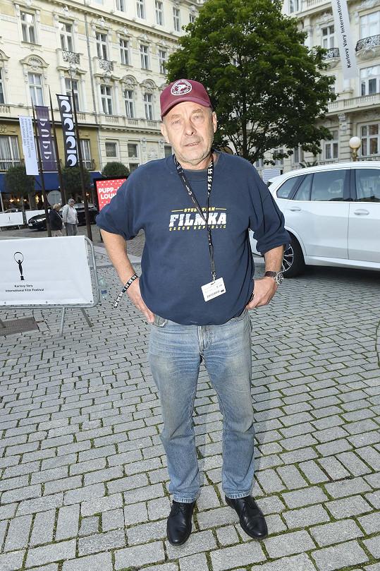 Václav Marhoul přijel do Varů kvůli svému filmu Nabarvené ptáče.