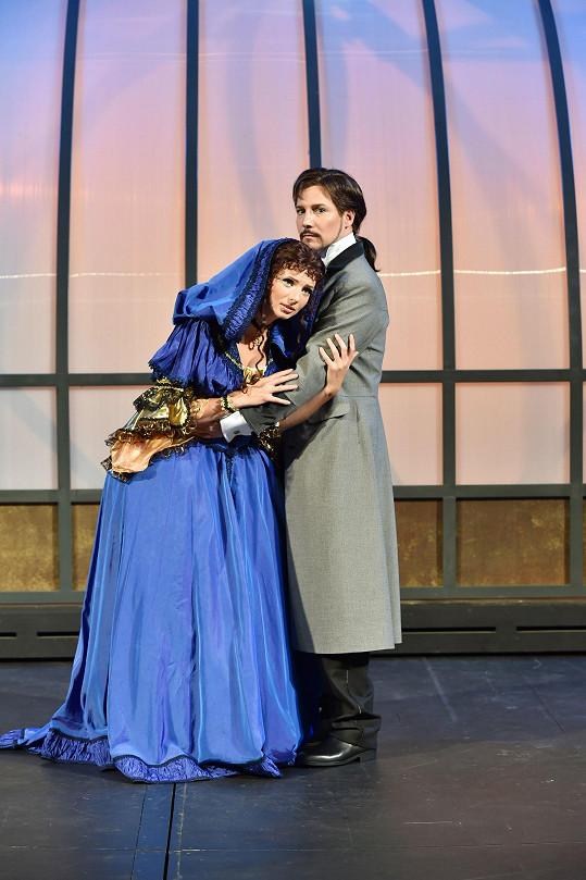 A takhle vypadá Bohuš Matuš jako Raoul ve Fantomovi opery.