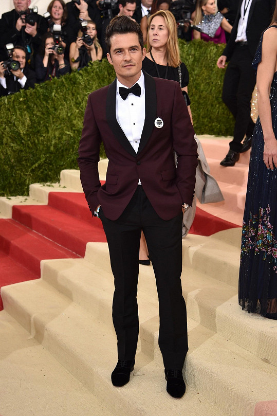 Další slavnou tváří byl například hollywoodský herec Orlando Bloom.