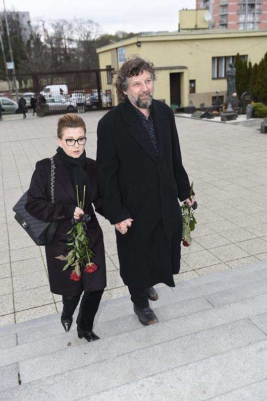 Dana Morávková a hudebník Petr Malásek