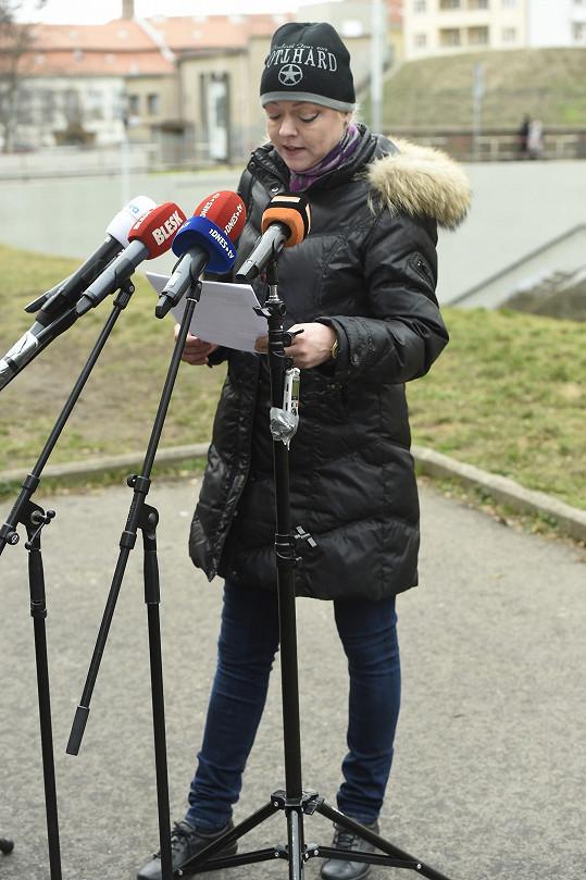 Dominika Gottová před pár dny uspořádala tiskovou konferenci, kde oznámila, že se k manželovi nevrátí.