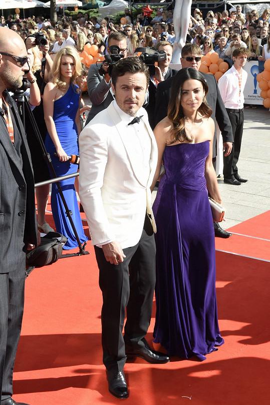 Casey Affleck s přítelkyní Florianou Limou