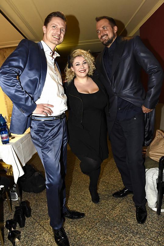 Vystoupili i Fantom opery Radim Schwab, Ondřej Ruml a Dannie.