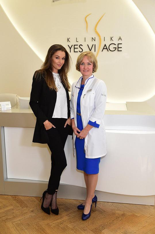 Ivu si vzala do parády dermatoložka Tereza Gabryšová.