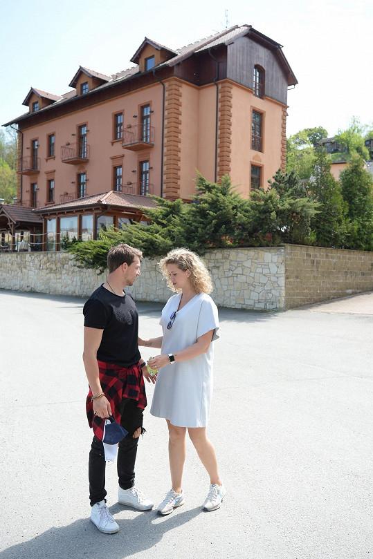 Peter Pecha s manželkou vyrazili v den výročí do Tábora.