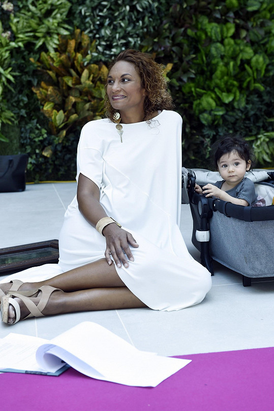 Lejla s dcerou Iman