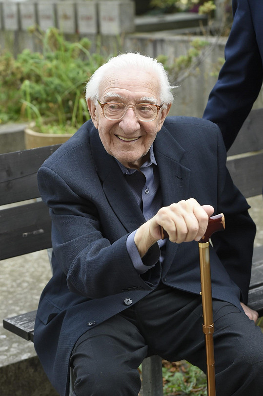 Scenárista a herec Gustav Oplustil