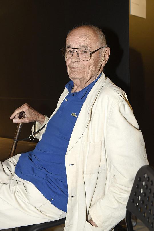 Režisér nedávno oslavil 88. narozeniny.