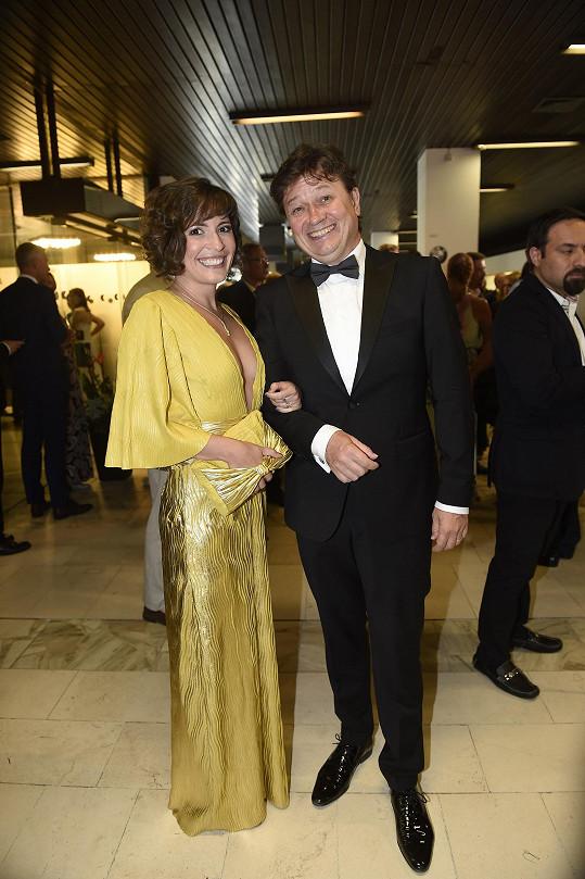 Romana Goščíková s manželem Karlem Janákem