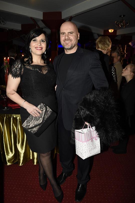Andrea Kalivodová s manželem