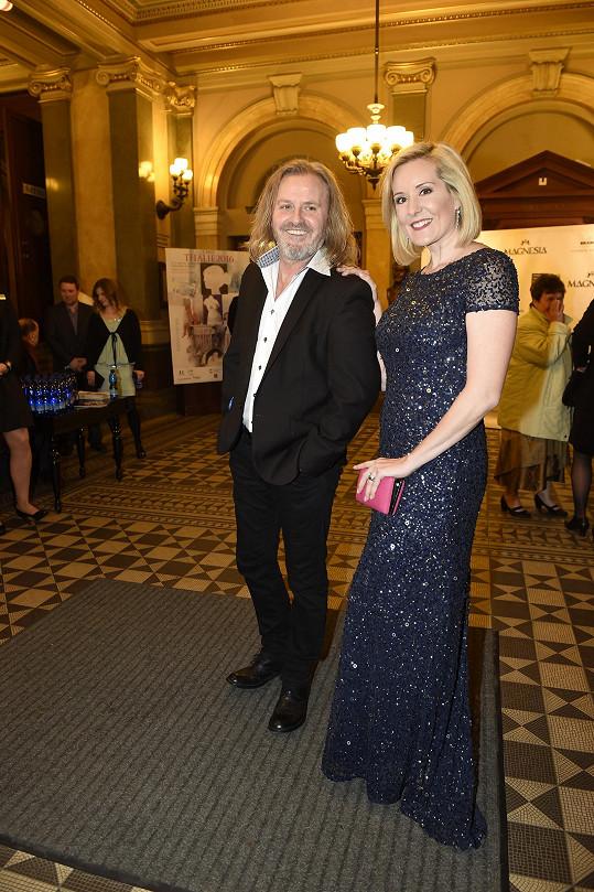 Pepa s manželkou Jovankou Vojtkovou.