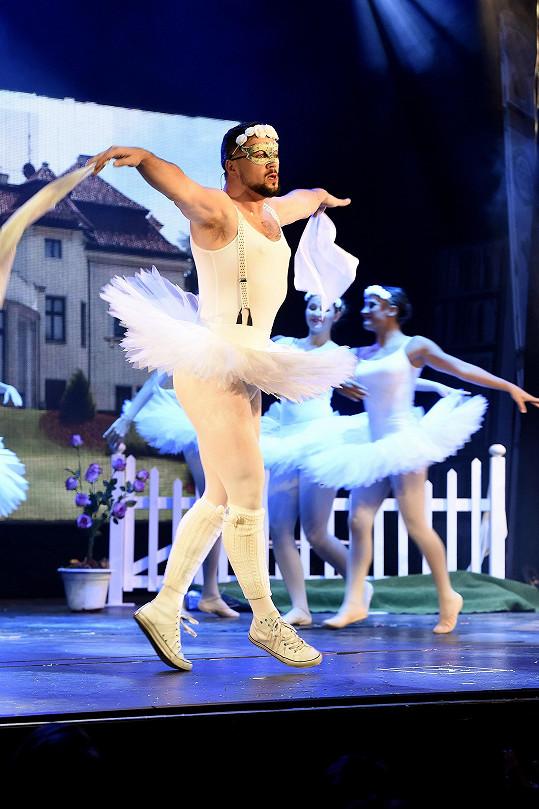 Michal jako baleťák