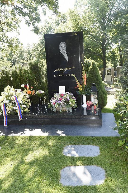 Karel Gott by v úterý oslavil 81. narozeniny.