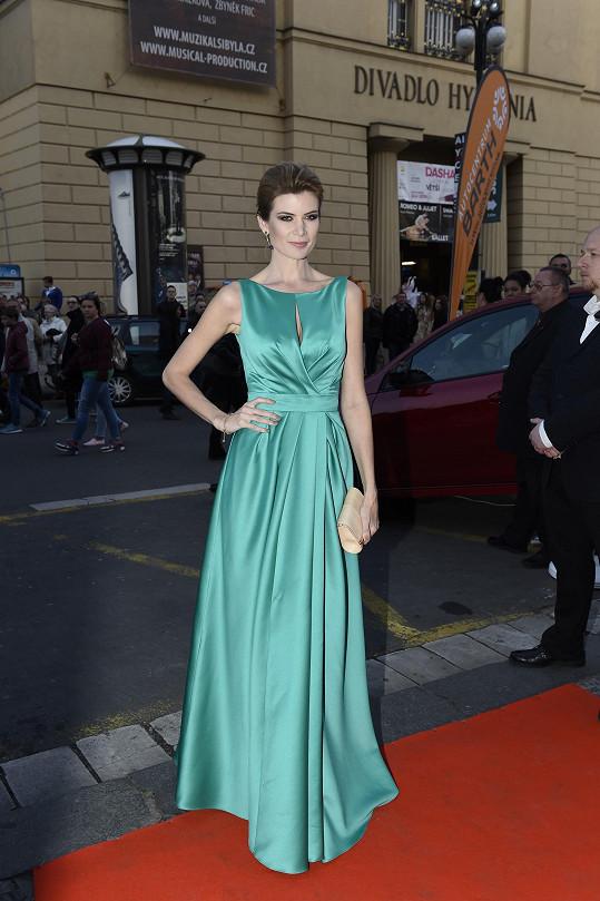 Iveta Vítová měla šaty z půjčovny.
