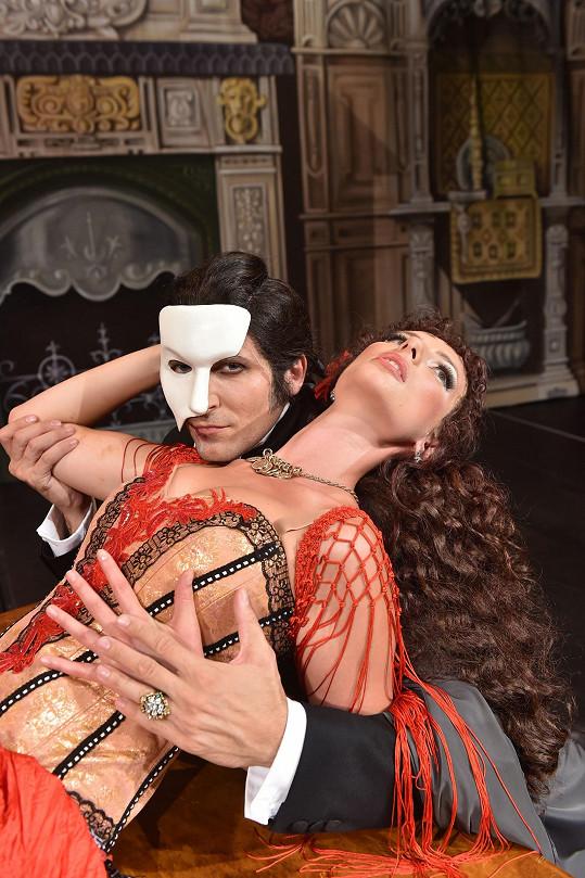 Fantom opery nepostrádá charizma.
