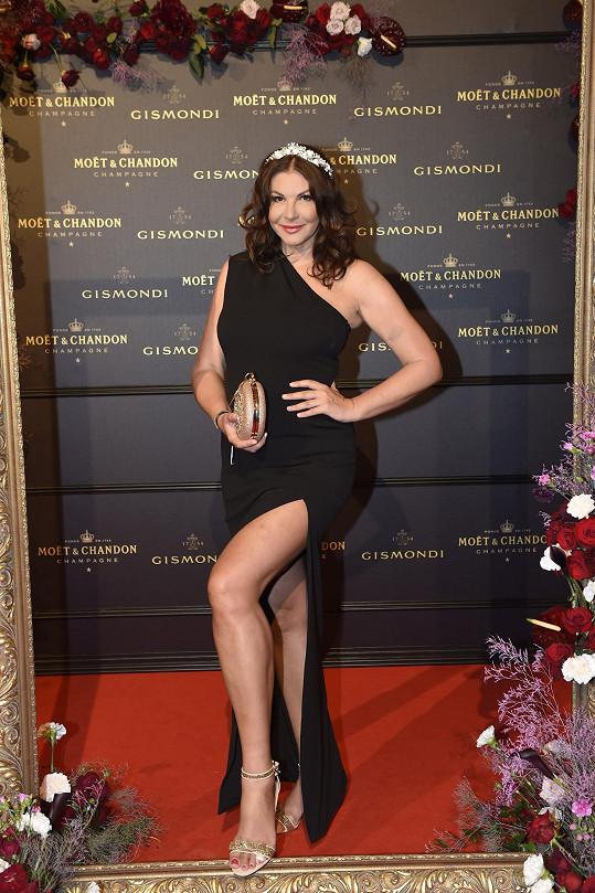 Bývalá miss, nyní moderátorka slovenské Markízy Andrea Tatarková