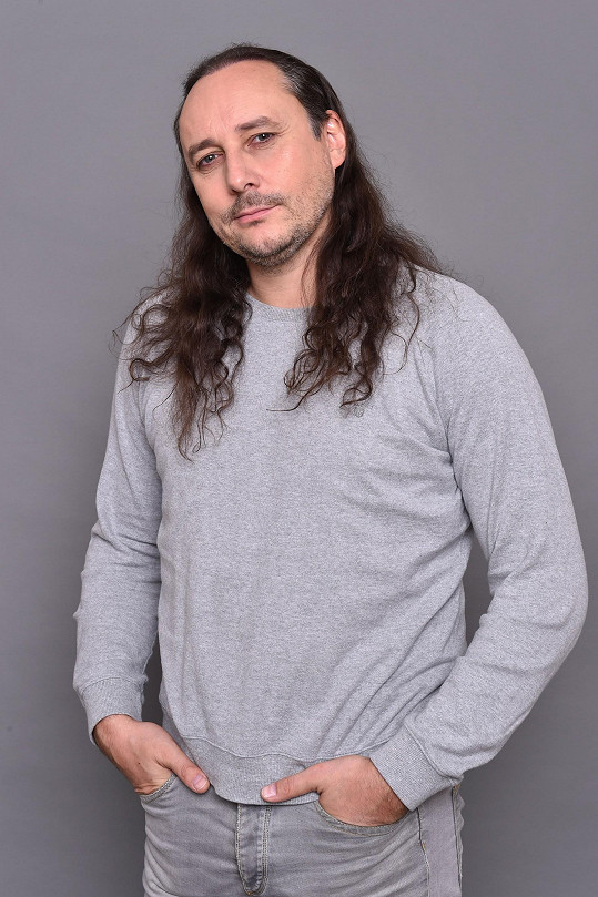 Marian Vojtko léta nosil dlouhé vlasy.