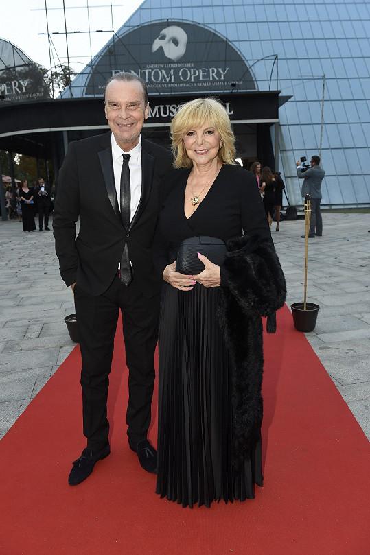 Hana Zagorová a Štefan Margita patří k nejstabilnějším párům českého showbyznysu.