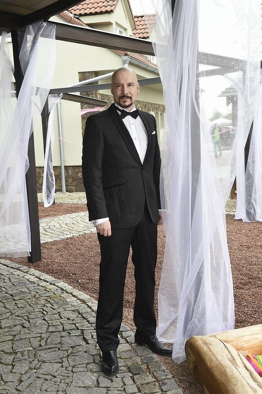 Bohuš Matuš už je připravený se oženit.
