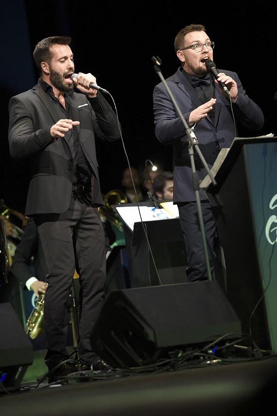 Petr Sovič si zazpíval i s Václavem Noidem Bártou.