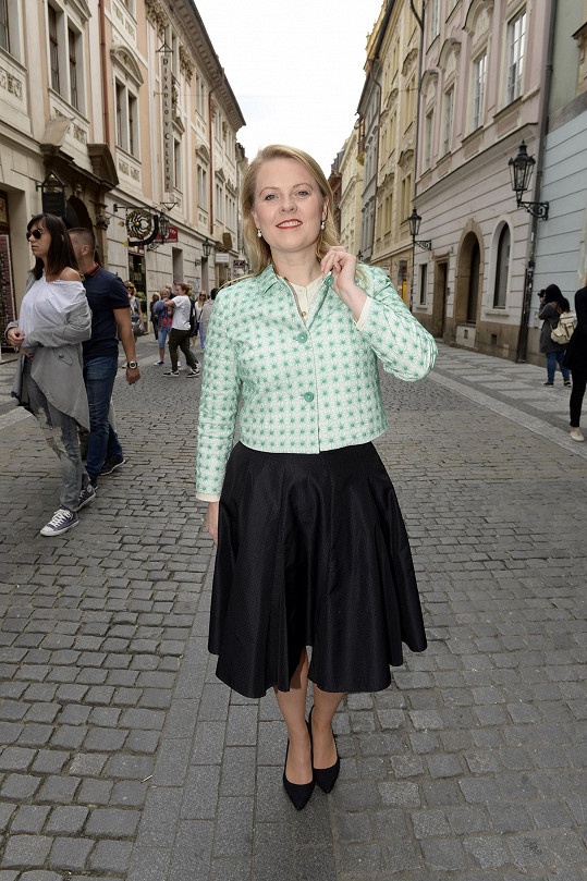 Patricia v pražské Celetné ulici
