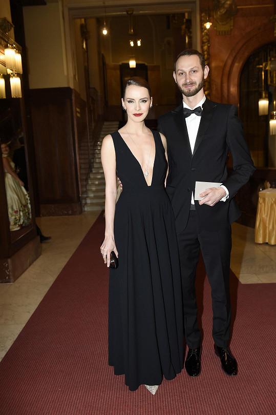 Gabriela Lašková s manželem