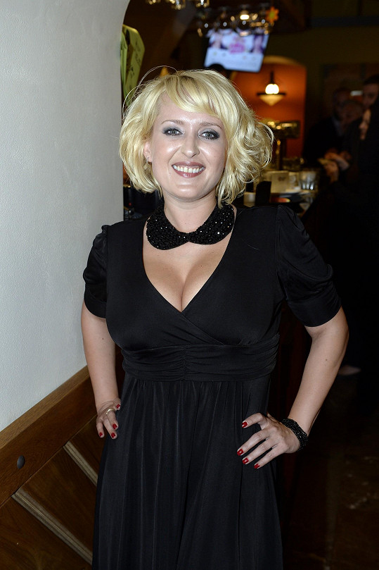 Miluše Bittnerová na afterpárty po premiéře filmu Andílek na nervy