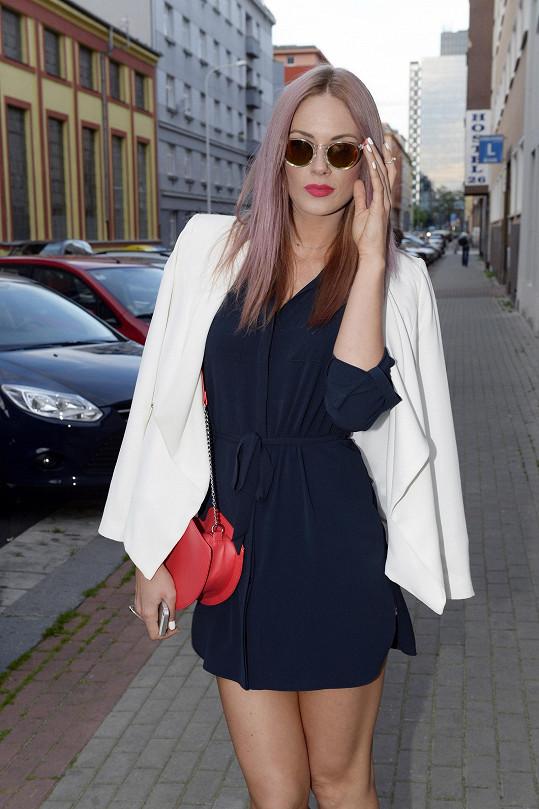 Bloggerka a modelka Nikol Moravcová