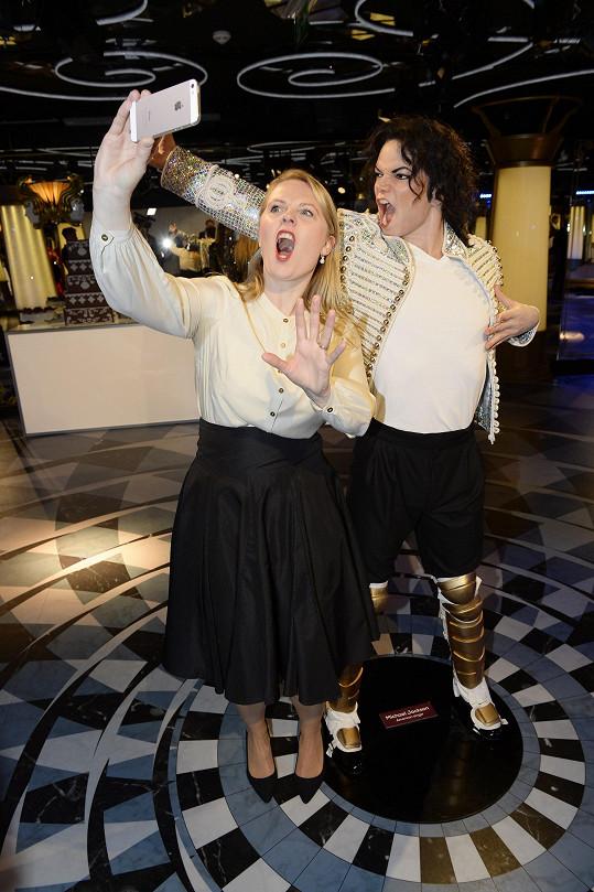Patricia a Michael Jackson