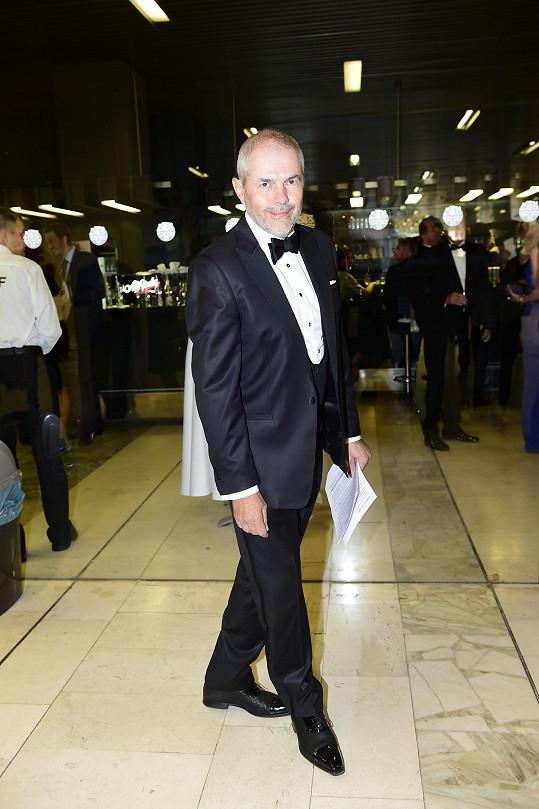 Ceremoniál tradičně moderoval Marek Eben.