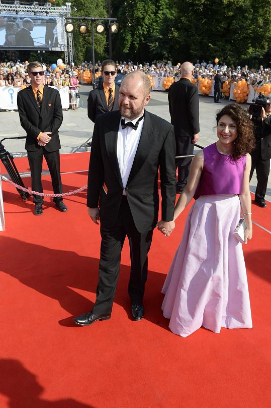 Martha Issová s Davidem Ondříčkem