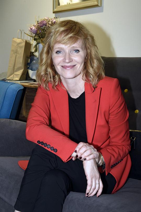Aňa Geislerová ztvárnila jednu z hlavních rolí v trilogii Zahradnictví.