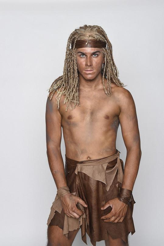 Zpěvák a herec David Gránský se také objeví jako Tarzan.
