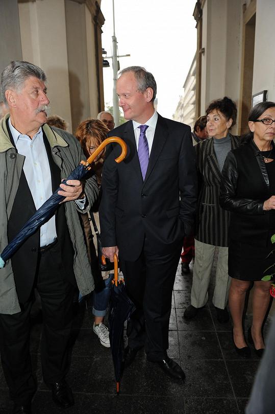 Dorazil i Cyril Svoboda.