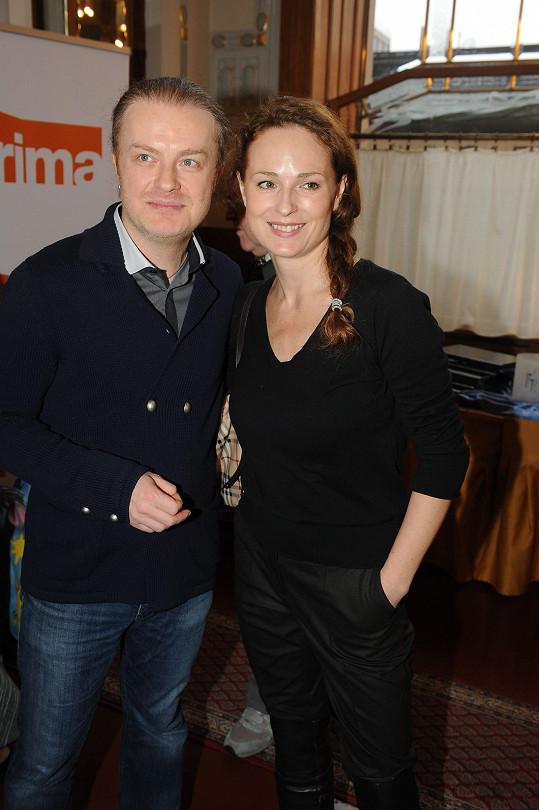 s Pavlem Šporclem vystoupí na benefičním večeru Srdce pro děti.