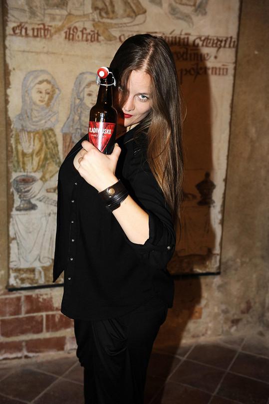 Vladivojna má i vlastní edici piva.