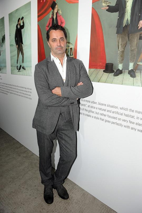 Martin Dejdar sleduje módní trendy, ale pečlivě mezi nimi vybírá.