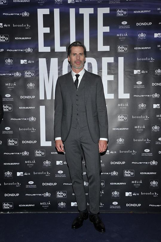 S Markem Vanderloo jsme se setkali na světovém finále Elite Model Look, kde letos usedl v porotě.