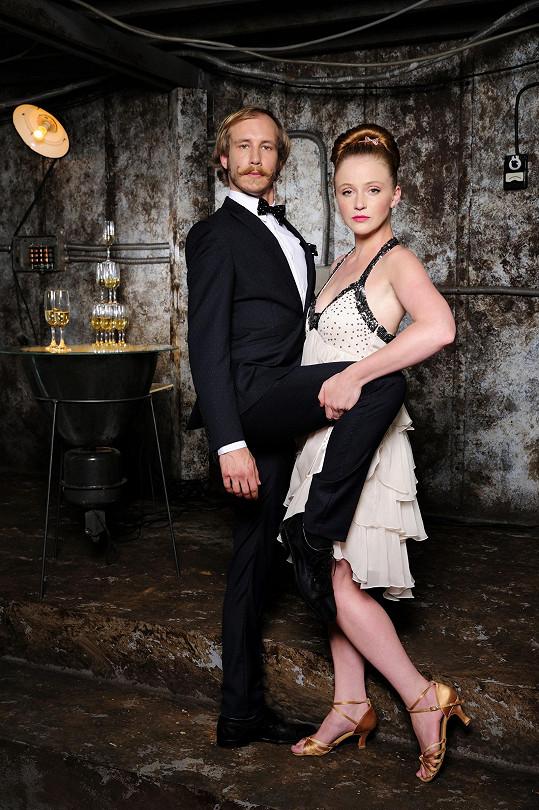 Marek Zelinka a Marie Doležalová na oficiálním snímku