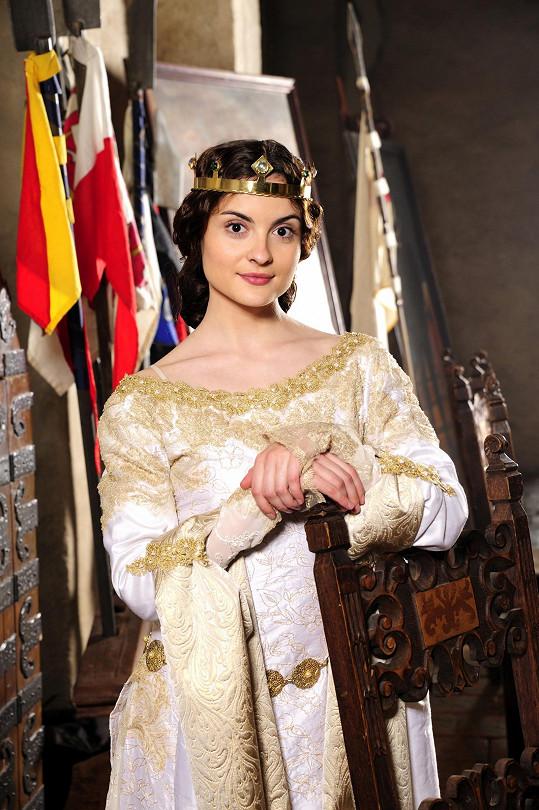 Eva Josefíková v pohádce Korunní princ