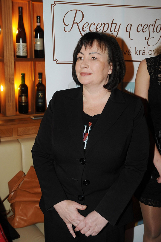 Ivana Zemanová do společnosti často nechodí.