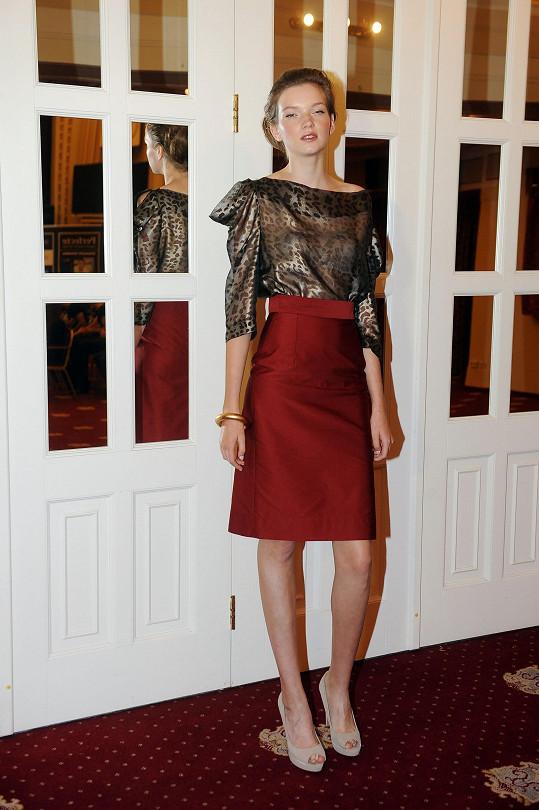 Eva Klímková vyhrála světovou modelingovou soutěž.