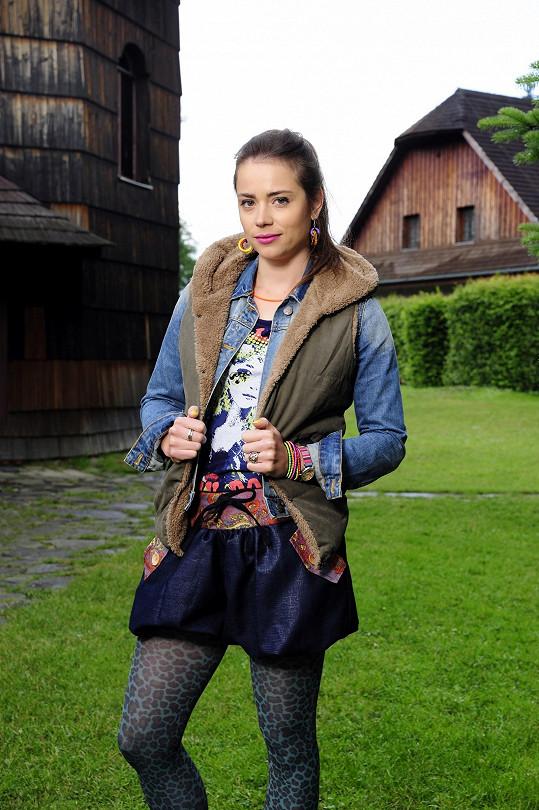 Gabriela Marcinková v seriálu Doktor Martin