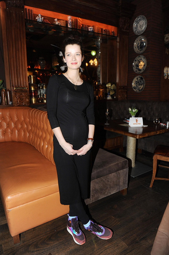 Marika Šoposká je v 7. měsíci těhotenství.