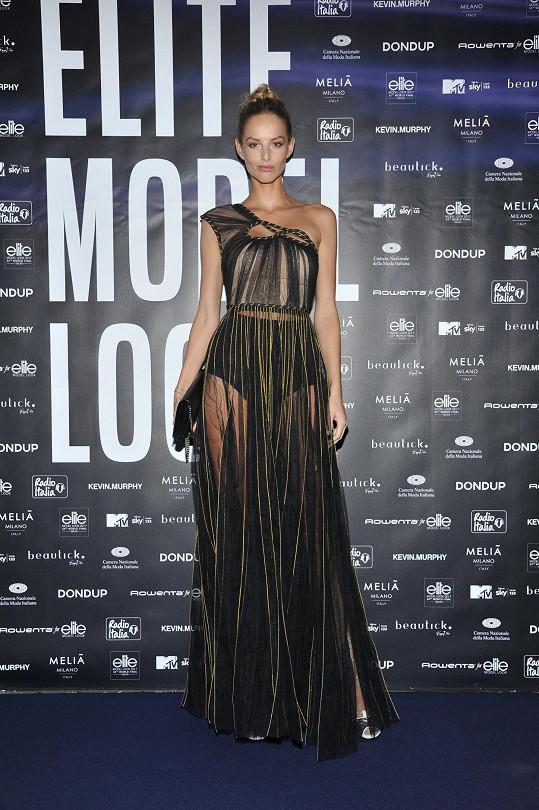 S Míšou jsem si povídali na světovém finále Elite Model Look v Milánu.