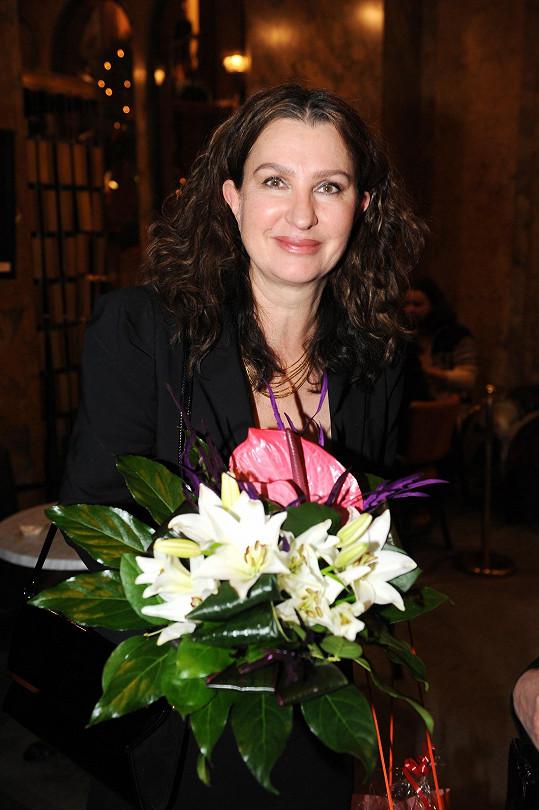Irena Pavlásková na premiéře
